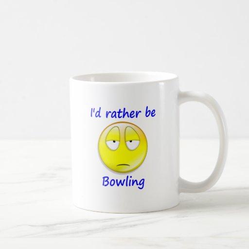 Rather Be Bowling Coffee Mugs