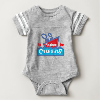 Rather Be Cruising Baby Bodysuit