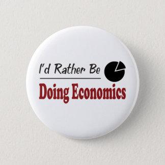 Rather Be Doing Economics 6 Cm Round Badge