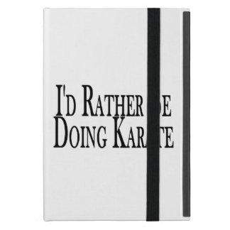 Rather Be Doing Karate iPad Mini Case