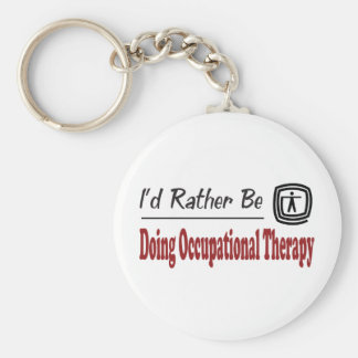 Rather Be Doing Occupational Therapy Key Ring