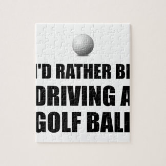 Rather Be Driving Golf Balls Puzzle