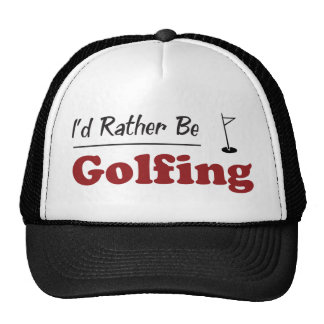 Rather Be Golfing Trucker Hat