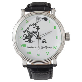 RATHER BE GOLFING WRISTWATCH