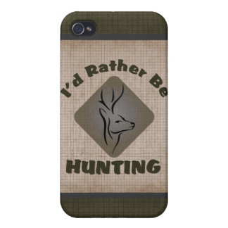 Rather Be Hunting Deer Hunter iPhone 4 Cases
