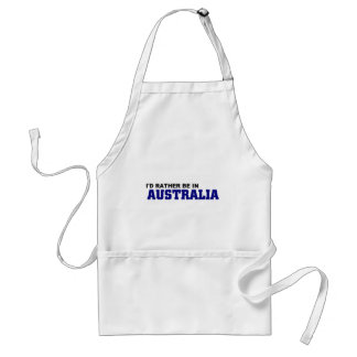 Rather be in Australia Standard Apron