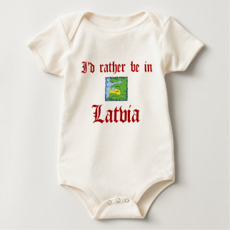 Rather be in Latvia Romper
