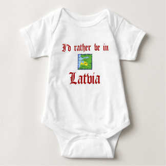 Rather be in Latvia Tee Shirts