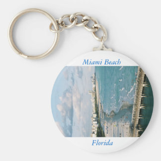 Rather Be In Miami Key Ring