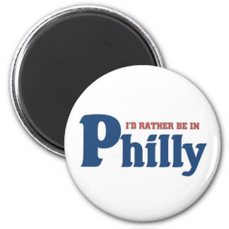 Rather be in Philly Magnet