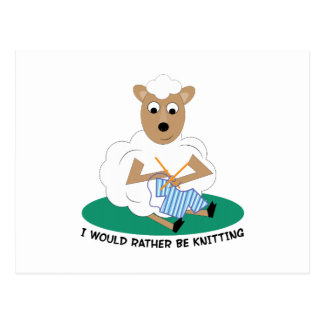 Rather Be Knitting Post Cards