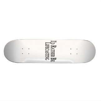 Rather Be Lifecasting 21.6 Cm Old School Skateboard Deck