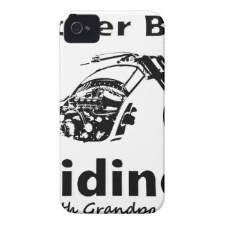 Rather Be Riding w grandpa iPhone 4 Cover