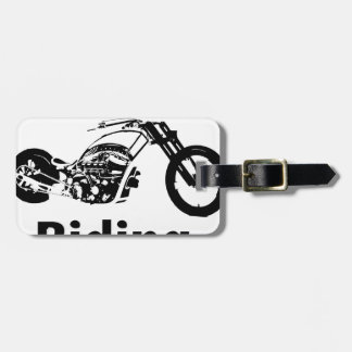 Rather Be Riding w grandpa Luggage Tag