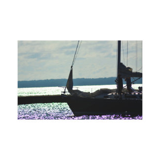 Rather be Sailing Canvas Print