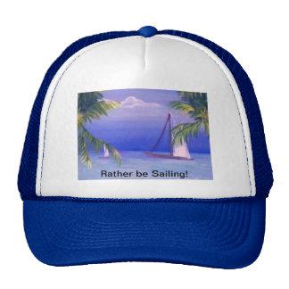 Rather be Sailing! Mesh Hat