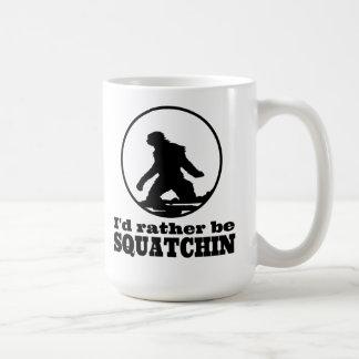 Rather Be Squatchin Mugs