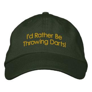 Rather be Throwing DARTS CAP