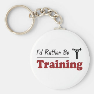 Rather Be Training Keychains