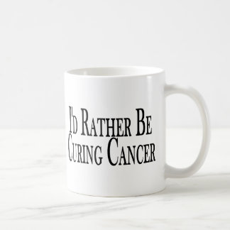 Rather Cure Cancer Coffee Mug