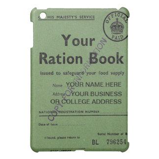 ration book  iPad mini cover