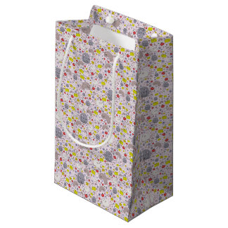 Rats and Mice in Pink Small Gift Bag