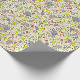Rats and Mice in Yellow Wrapping Paper