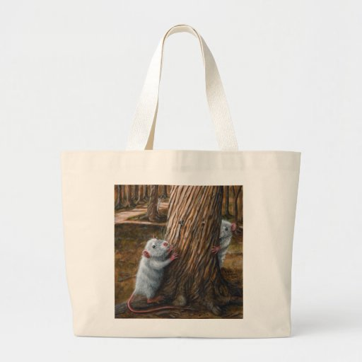 Rats by old tree hide and seek Tote Bag