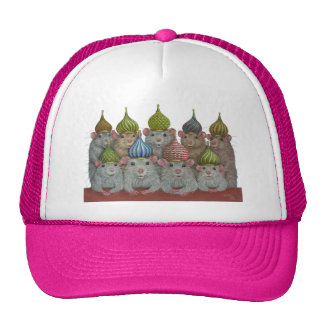 Rats in St Basil's Cathedral Dome Hat