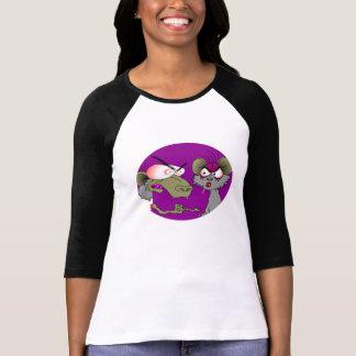 Rats Ladies Raglan Shirt