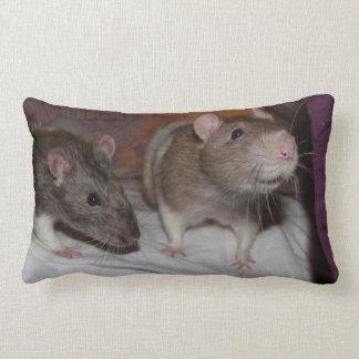 rats lumbar pillow