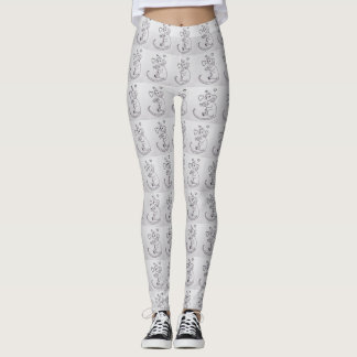 Rats or Mice and Hearts Leggings