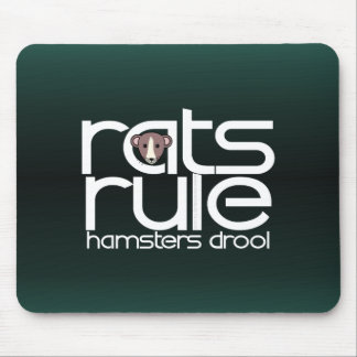 Rats Rule Mouse Pads