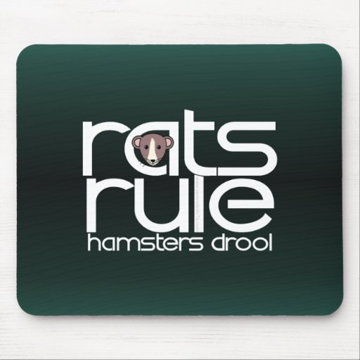 Rats Rule Mouse Pads