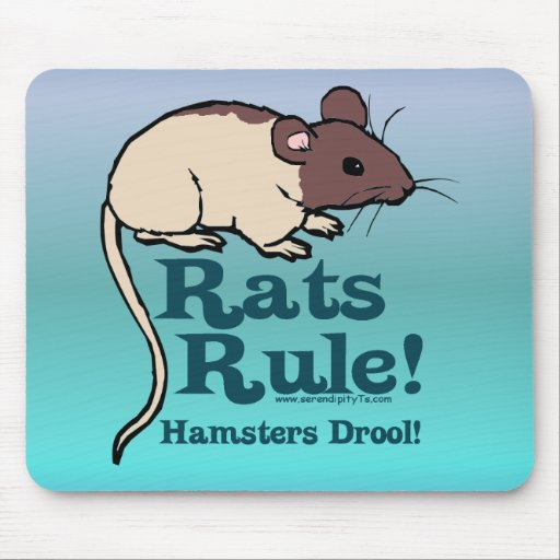 Rats Rule! Mouse Pads