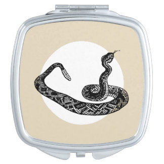 Rattle snake vanity mirrors
