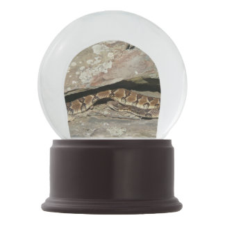 Rattlesnake at Shenandoah National Park Snow Globe