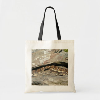 Rattlesnake at Shenandoah National Park Tote Bag