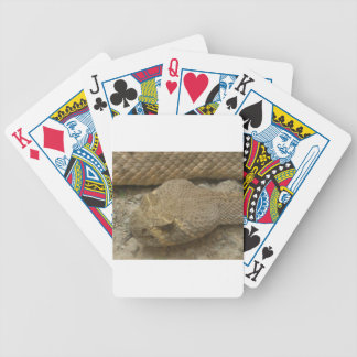 Rattlesnake Bicycle Playing Cards