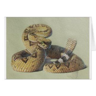 Rattlesnake Card