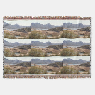 Rattlesnake Cove Throw Blanket