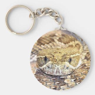 Rattlesnake Key Ring