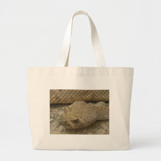Rattlesnake Large Tote Bag