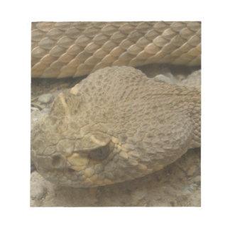 Rattlesnake Notepad