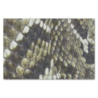 Rattlesnake Print Pattern Background Tissue Paper