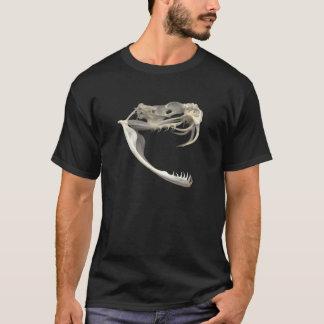 Rattlesnake Skull T-Shirt