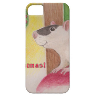 Ratty Christmas Barely There iPhone 5 Case