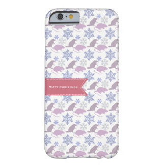 Ratty Christmas Rat Barely There iPhone 6 Case