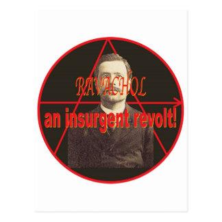 Ravachol-Portrait Post Card