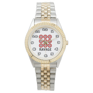 Ravage Women's Two-Tone Bracelet Watch